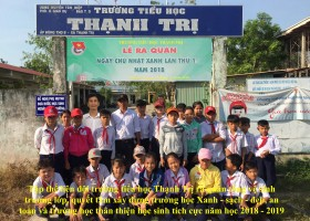 Phong trào xây dựng trường Xanh-sạch-đẹp